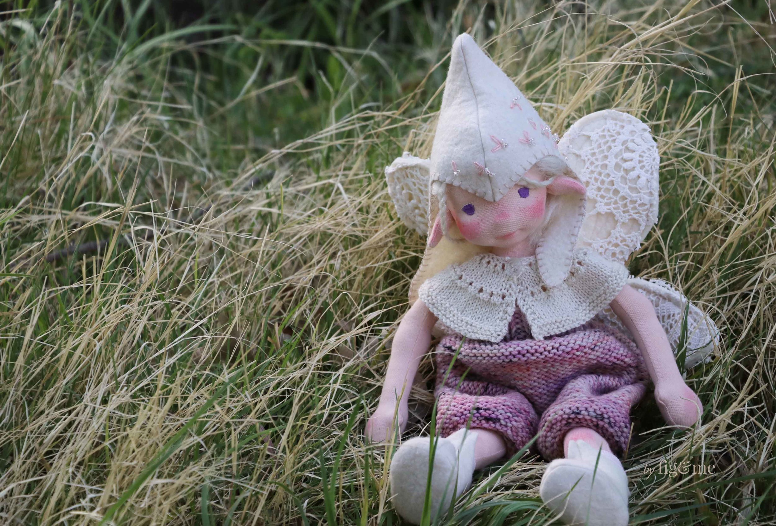 Maedhbhina, a fairy doll by Fig and Me.