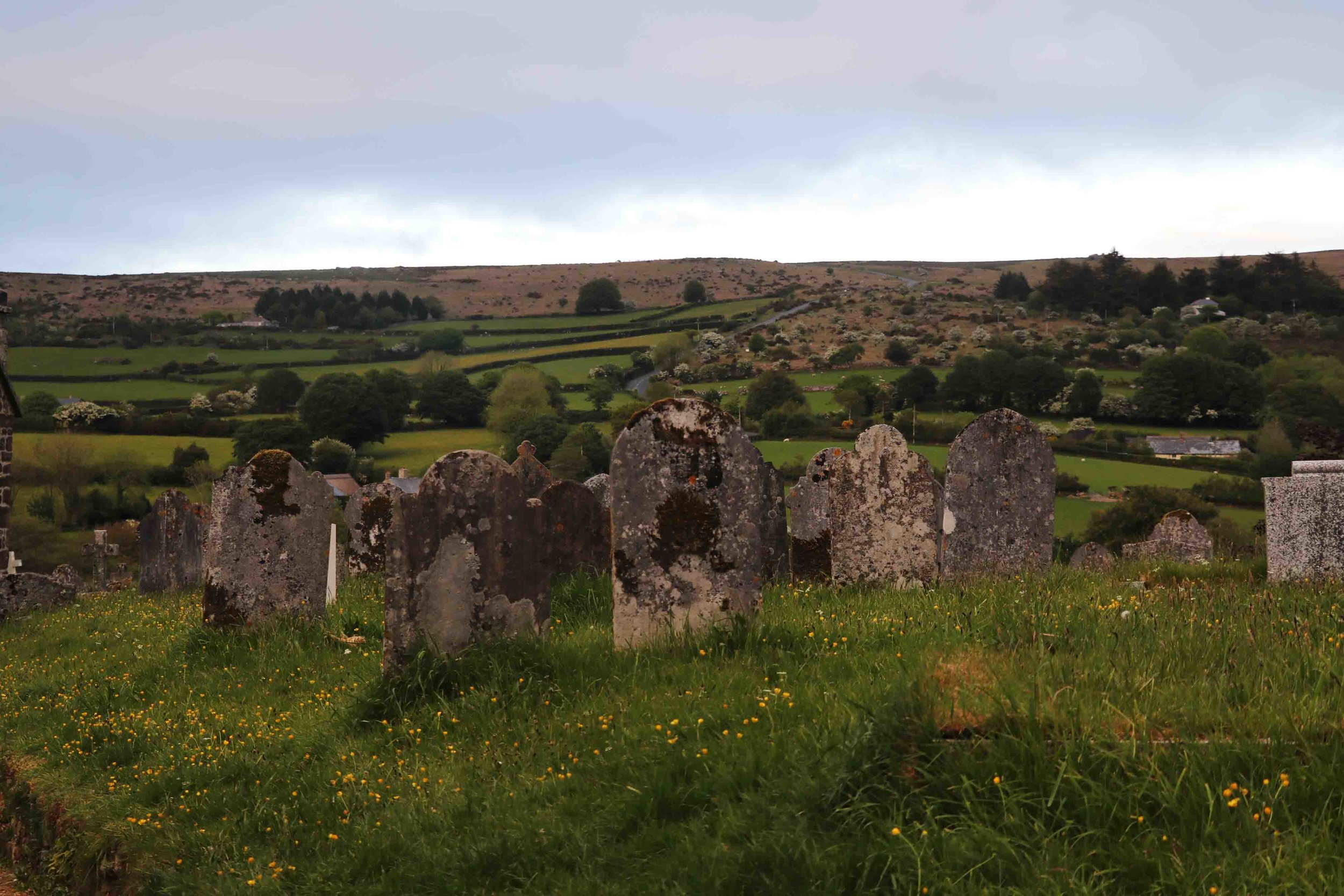 Widecombe in the Moor, Devon.