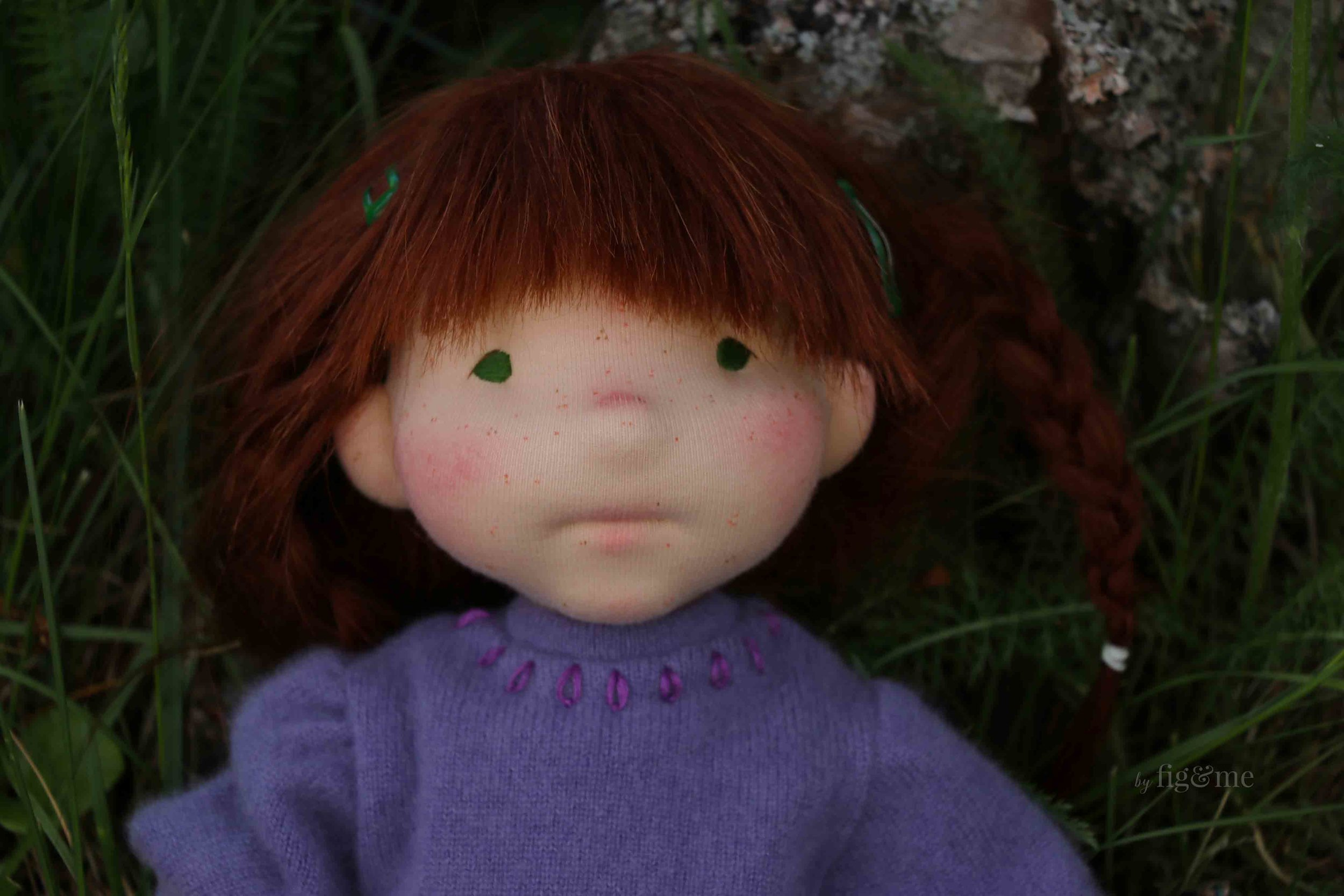 Bernadette, a custom doll by fig and me.