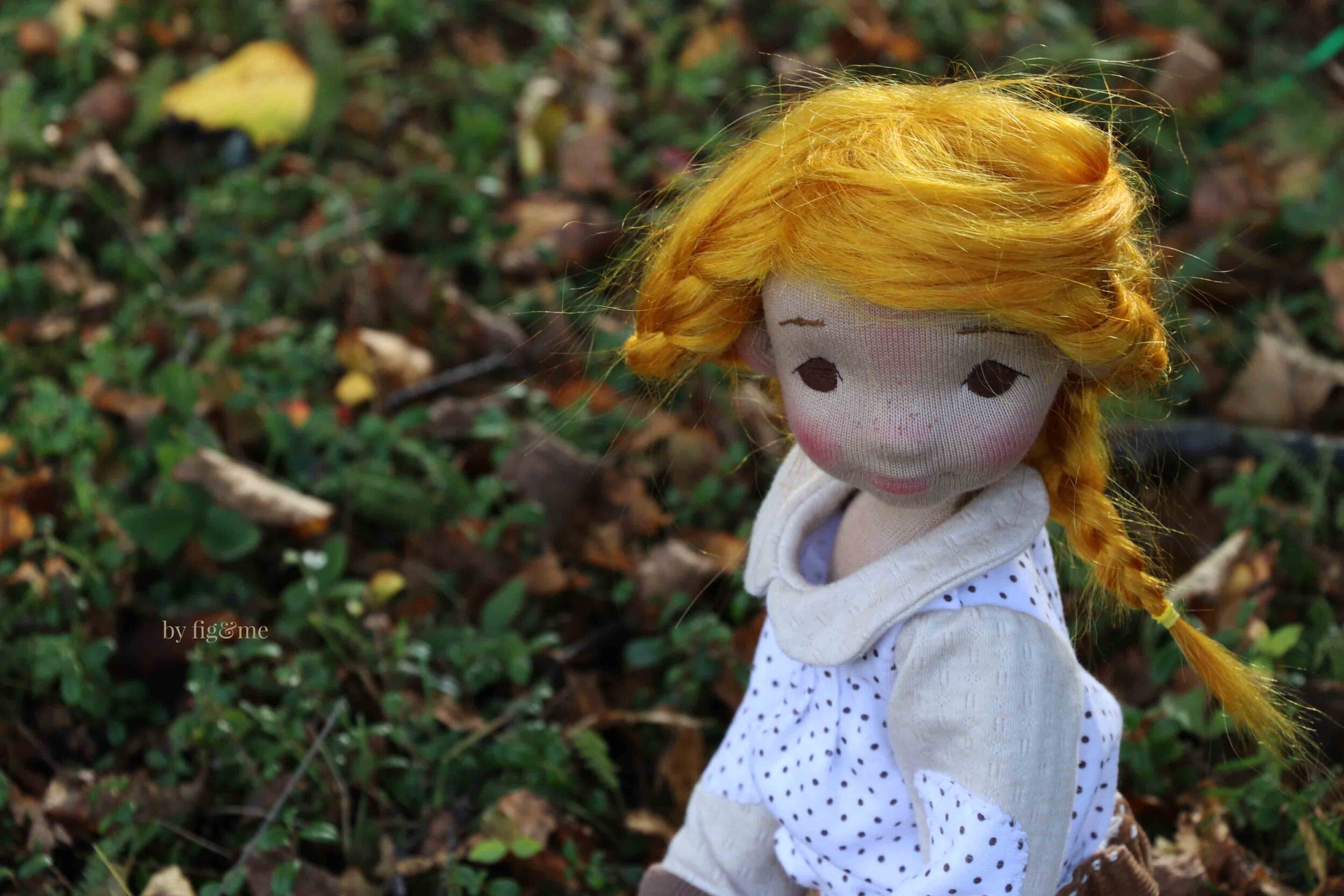 Winona, art doll by Fig and me