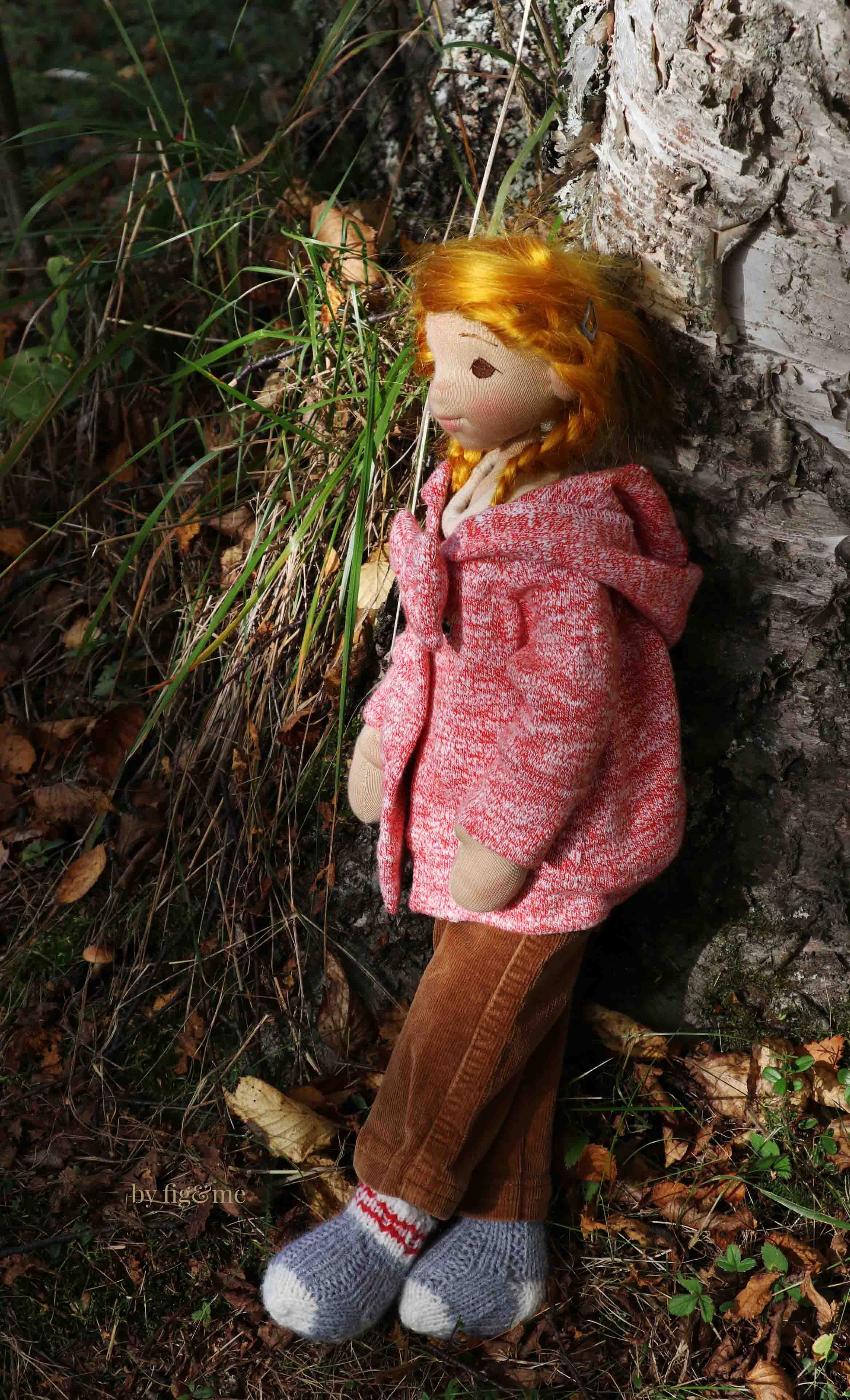 Fall doll clothing, so cozy! by fig and me