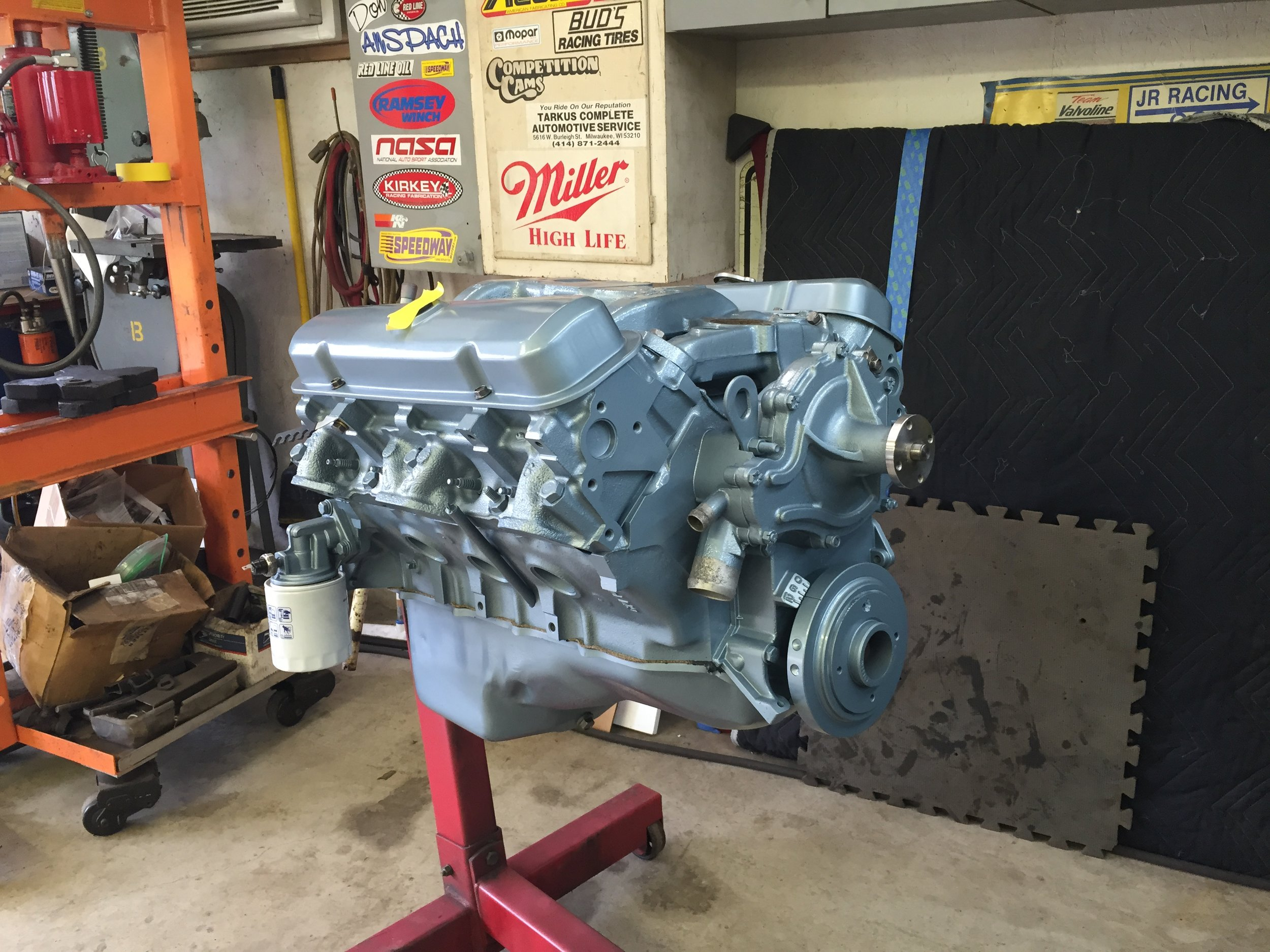 Freshly rebuilt and ready to install.