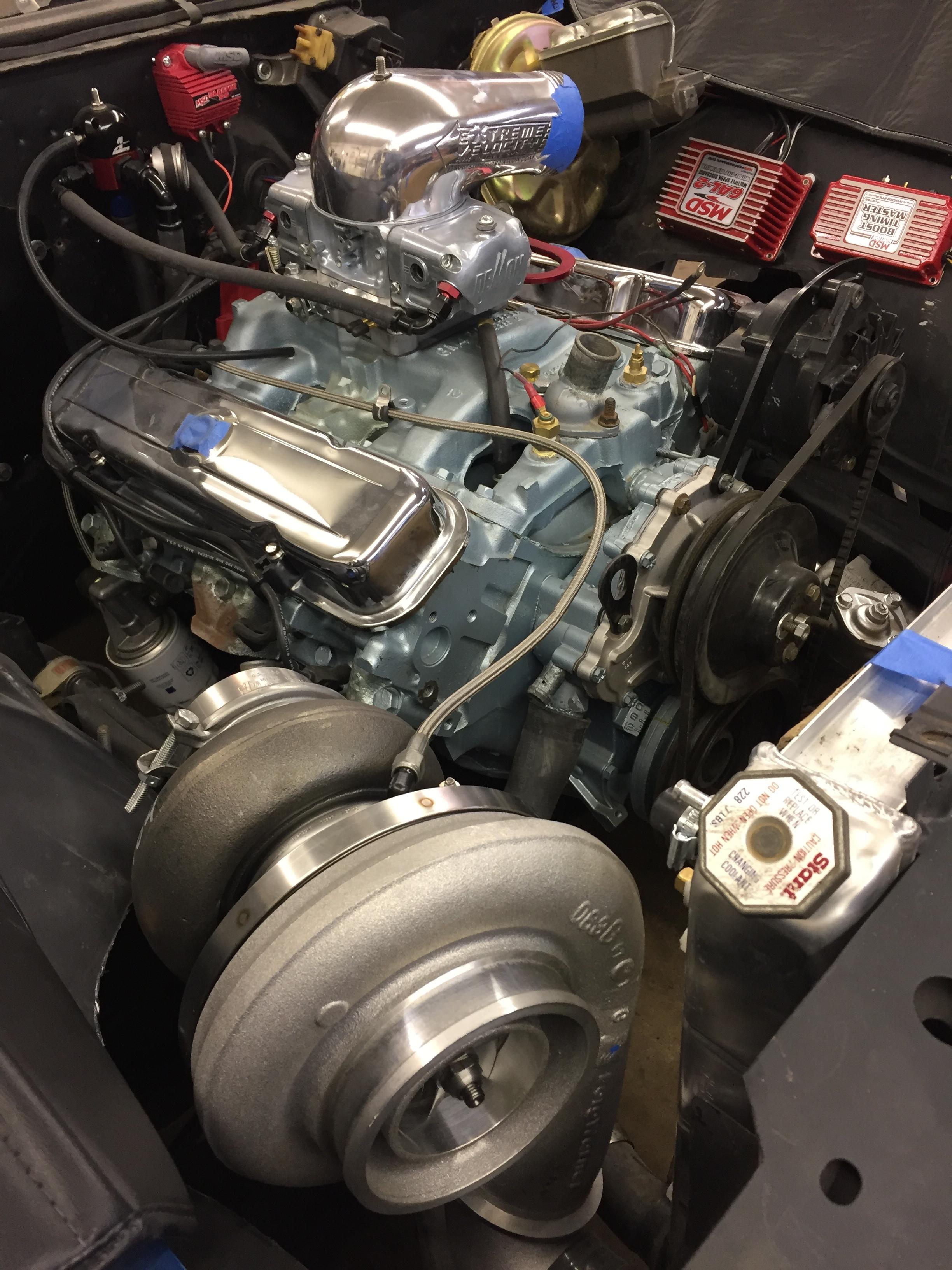 1972 Pontiac Station Wagon.  Turbo, Fuel Injection and Tremec TKO-600.  This kind of fun.