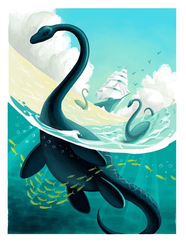 Seven Seas - Print coming soon