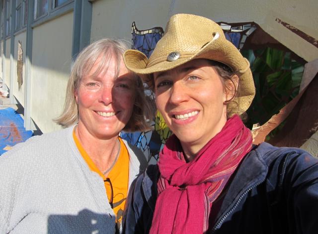 Kathy Law and Rachel Rodi