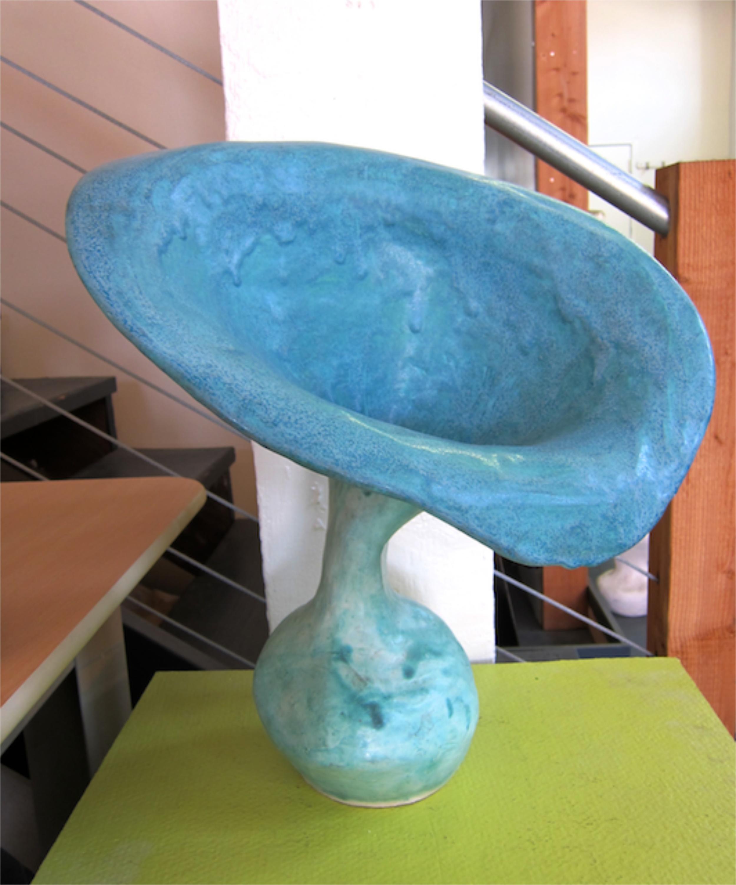 Trumpet sculpture
