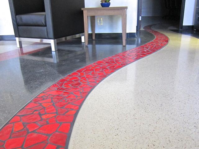 Smalti floor inset