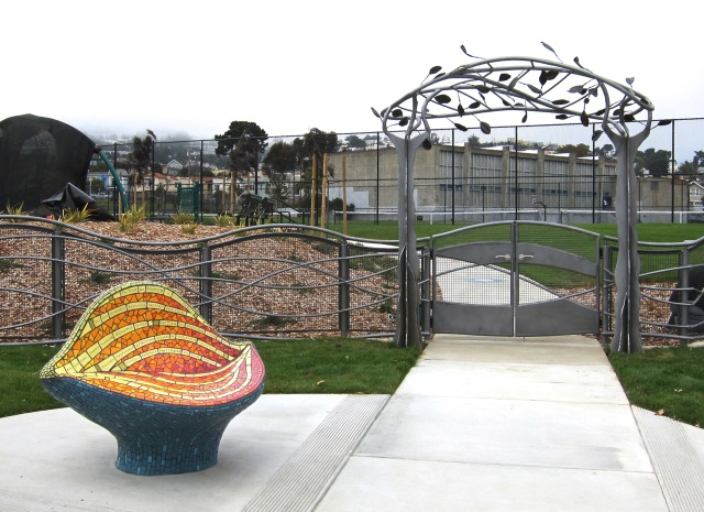 Dedication, Balboa Park, San Francisco