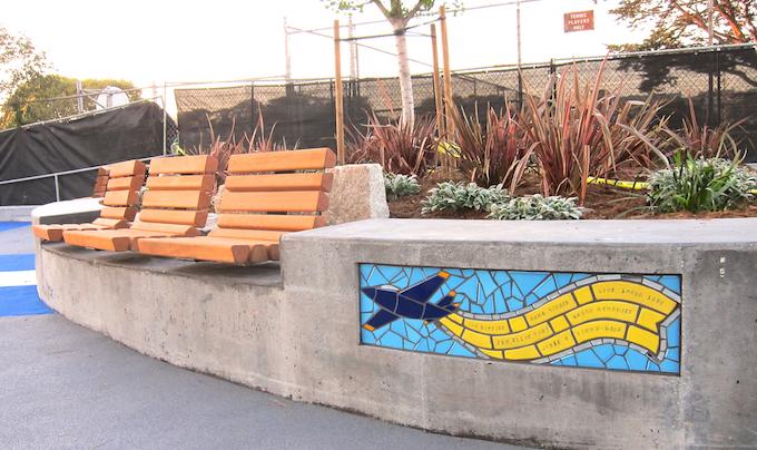 Flight - Seat Walls, Larsen Park, San Francisco