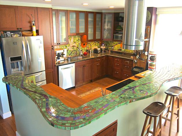 Rachel Rodi Mosaics Residential Projects