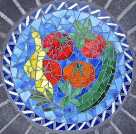 """15"""" Glass garden inset"""