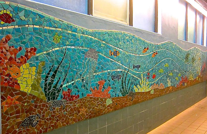 """Poolside Dreams"", UCSF Medical Center, San Francisco"