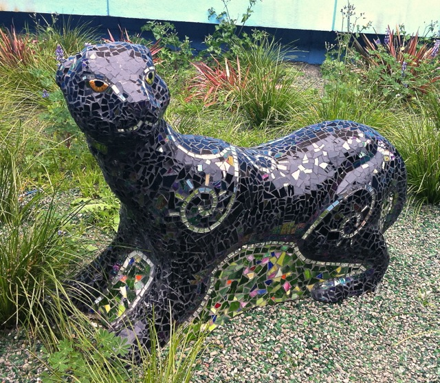 """""""Panther"""", Edna Brewer Middle School, Oakland, CA"""
