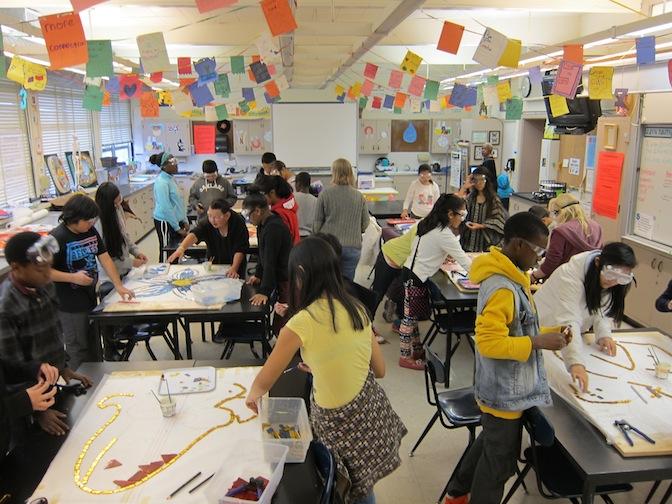 Edna Brewer Middle School, Oakland, CA