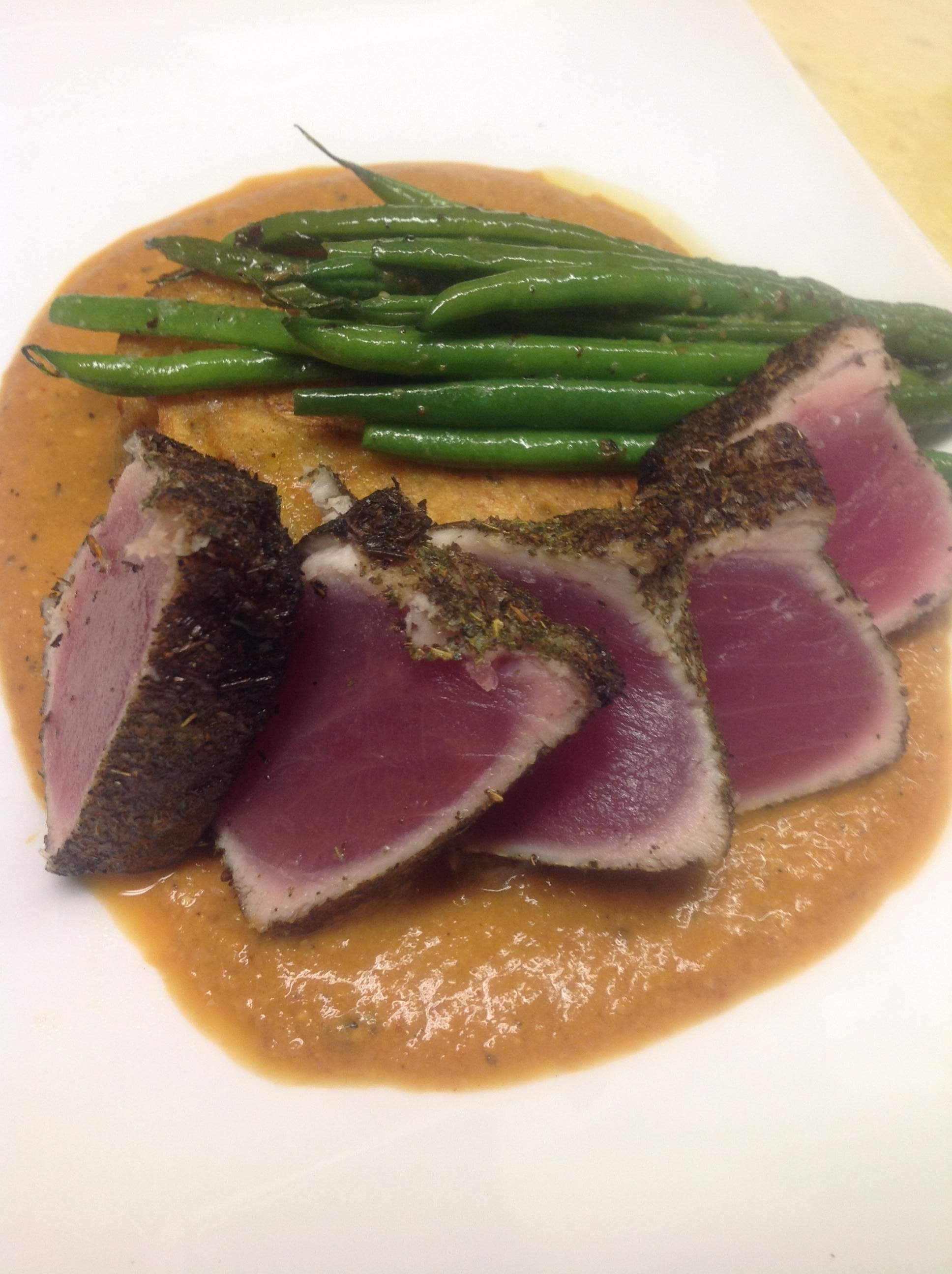 Pan-Seared Tuna