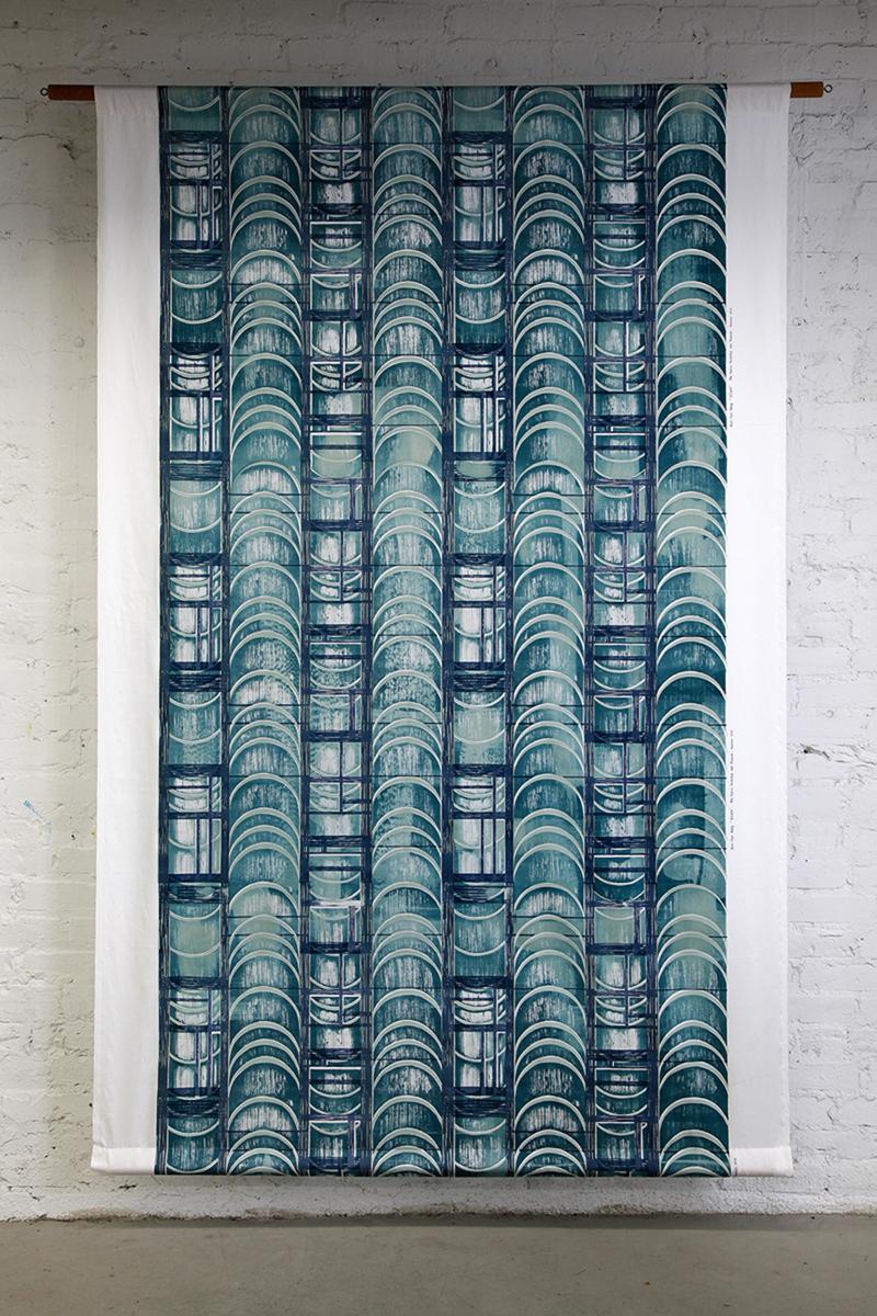 Eun Hye Kang_Giwa__Hangeul(Korean Letter), Silkscreening on Fabric1.jpg