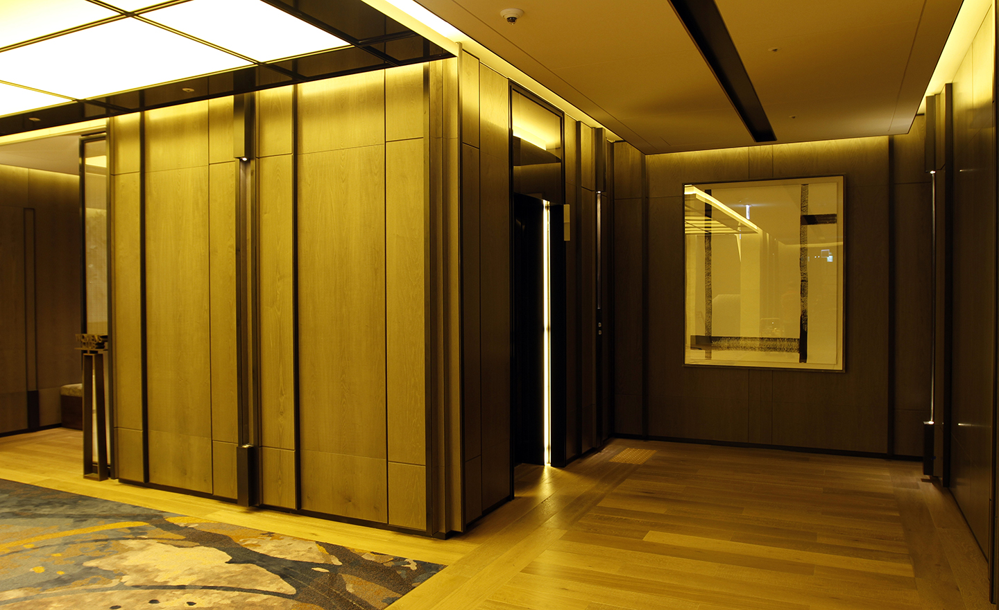 Installation view at Four Seasons Hotel Seoul