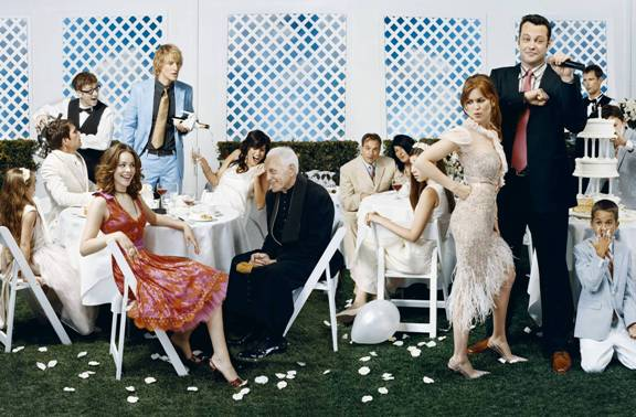 Owen Wilson really should be paying more attention to where he's pouring that champagne (photo from fanpop.com)