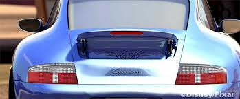 """You guys remember CARS, right? It was that animated movie that introduced kids to the concept of the """"tramp stamp,"""" as I am sure you recall. (image from disney.wikia.com)"""