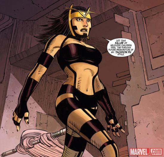 She's not talking about me. Honest. (image from marvel.com)