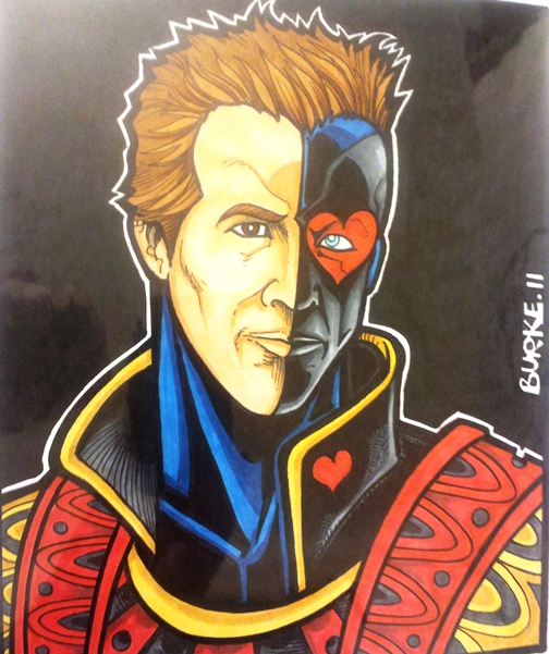 Jack of Hearts  Artist: Burke