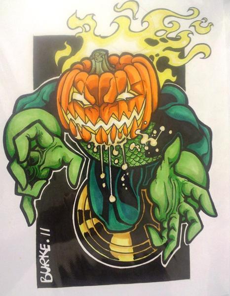 Jack O'Lantern  Artist: Burke