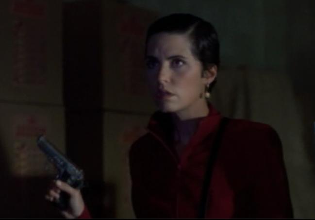 Male gaze alert: I like short hair on women. Even (especially?) trigger happy crime boss types of women.