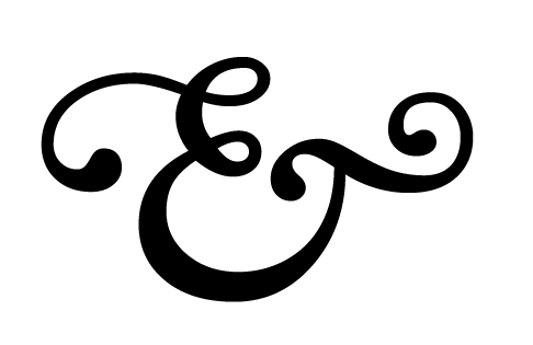 This ampersand is letting today's Mix go to its head, getting all fancy and such. (image from colourlovers.com)