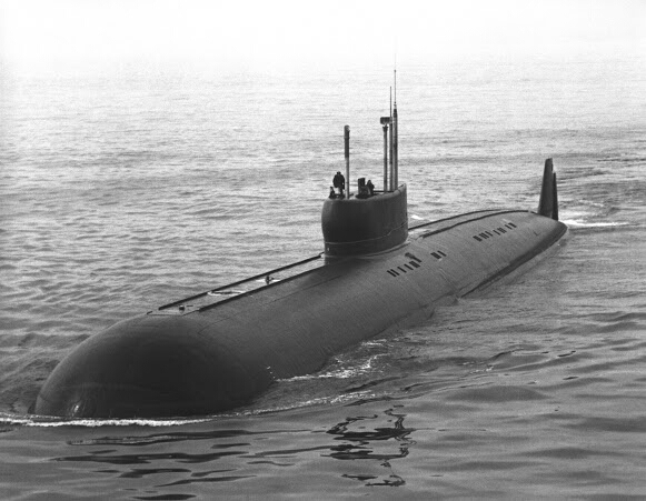 """The 1st dirty joke I ever heard doesn't work so well in print, but here it is: """"What's long, hard, and filled with se(a)men?"""" """"A submarine!"""" (Photo from Wikipedia.com)"""