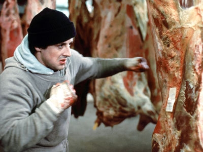 Don't be the guy who makes a beating the meat reference, don't be the guy who makes a beating the meat reference... (photo from genius.com)