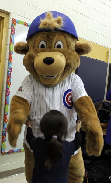 Clark devoured her moments later. Because he is a bear. (chicagotribune.com)