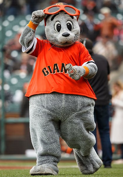 Lou Seal will bust you in the mouth. (si.com)