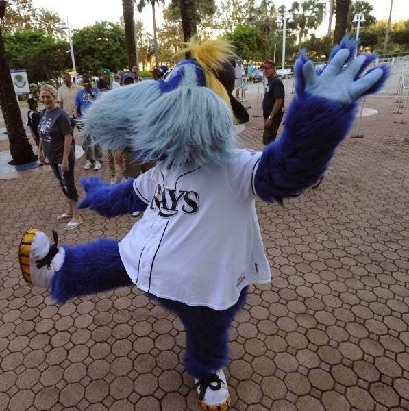 Raymond prepares for life when the Rays finally realizes he's terrible by busking on the streets during the off-season. (tbo.com)