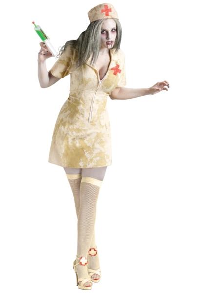 Hey look! Cleavage-y Zombie Short Dressed Nurse, a costume that definitely needed to exist! (halloweencostumes.com)