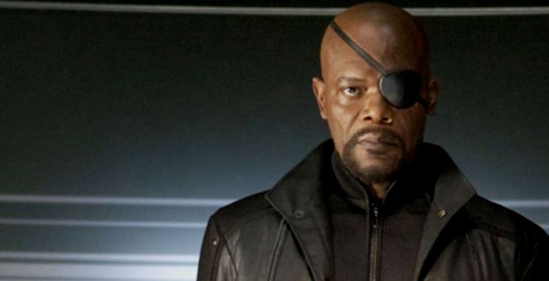 Nick Fury might even smile next time we see him. (Image from Marvel Films)