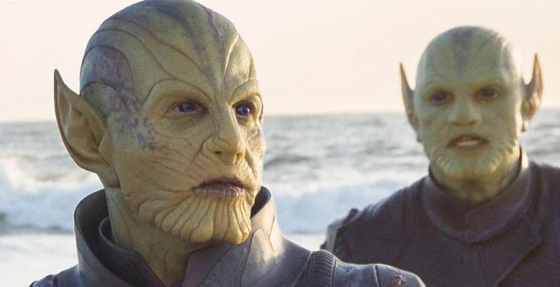 Talos contemplates those fat royalty checks. (Image from Marvel Films)