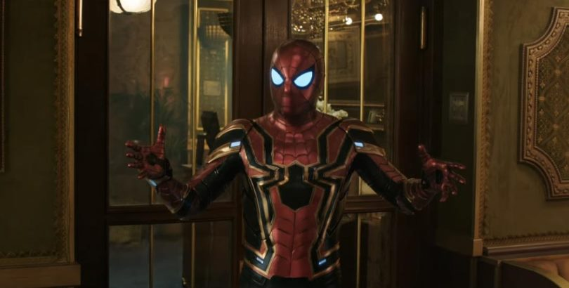 Seriously. FAR FROM HOME did this suit dirty. (Image from Marvel Films)