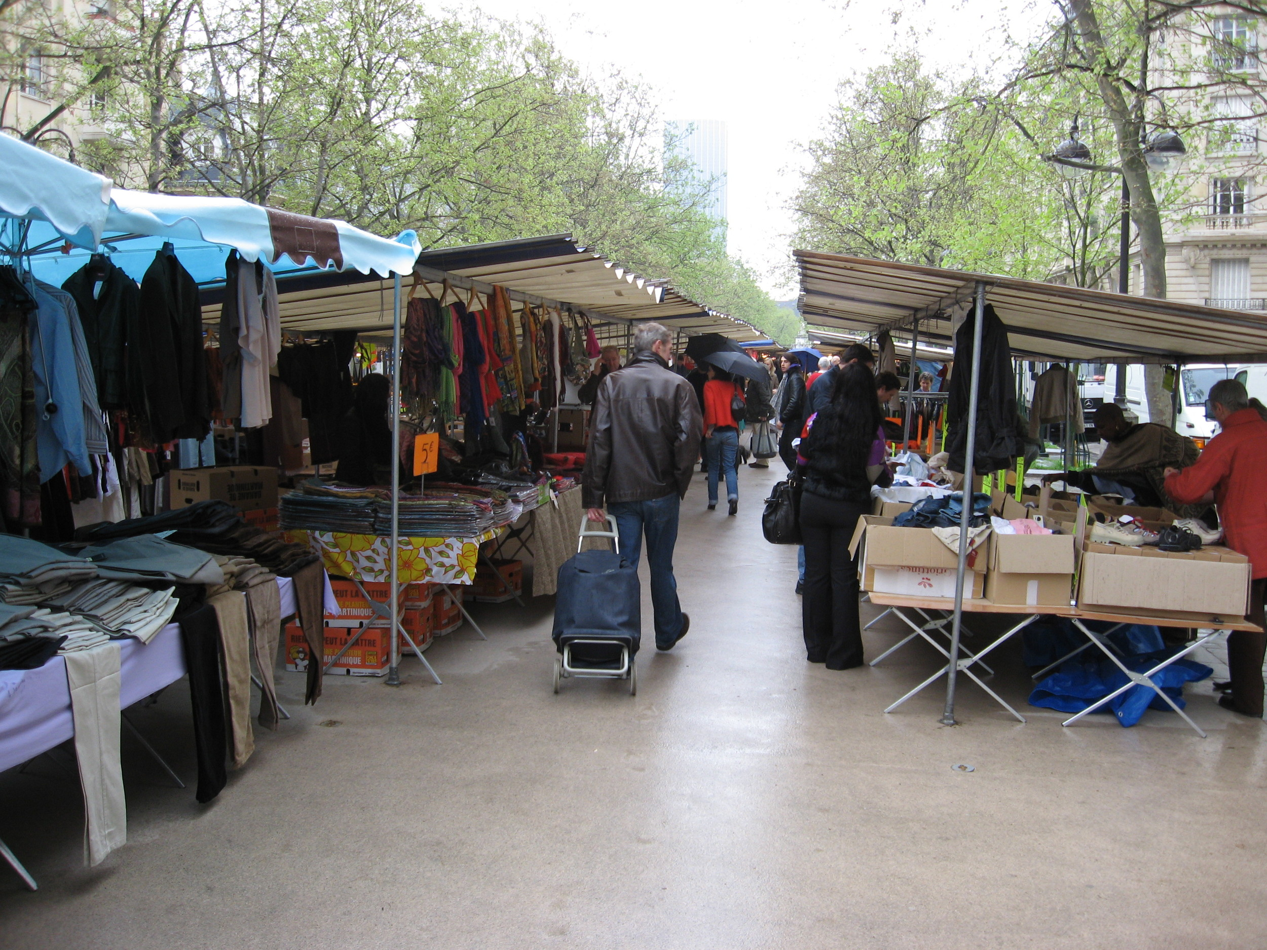 We love street markets. Paris has markets everyday in different locations, so we had is all mapped out so that everyday started with a market. From there we just let things happen.