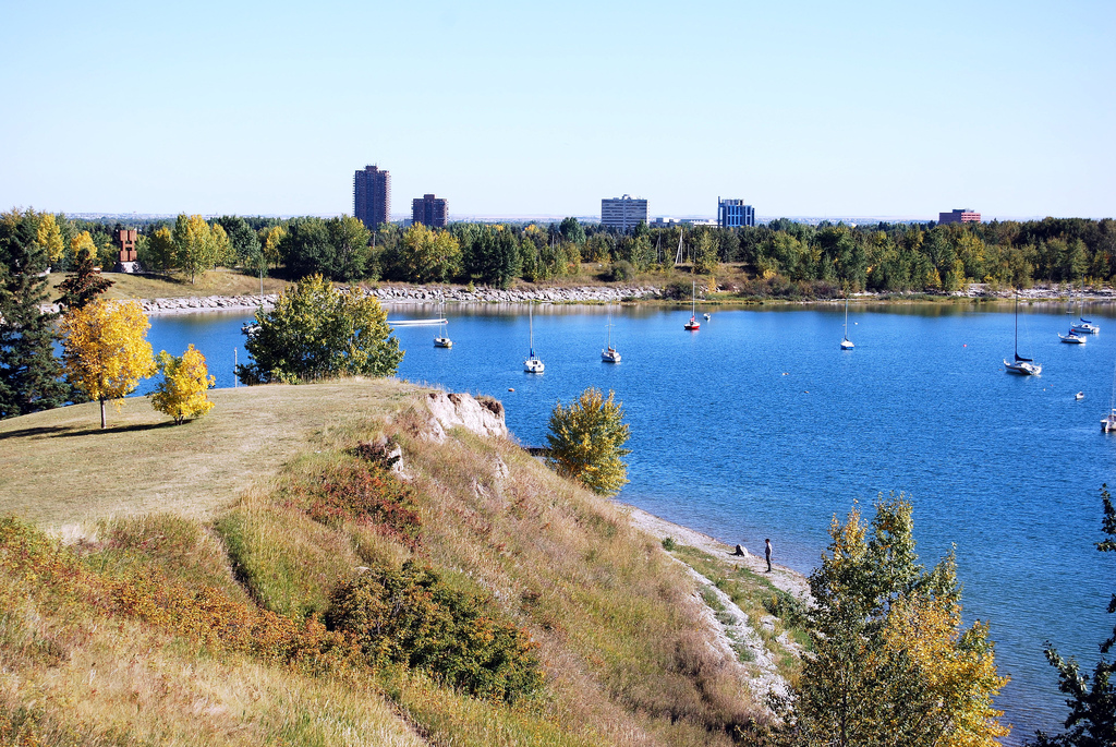 Glenmore Reservoir located only 10 minutes from Downtown.