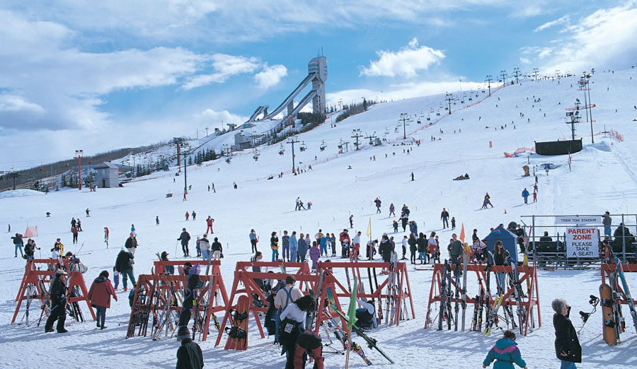 Calgary was home to the 1988 Winter Olympics. One of the legacies of the Olympics is Canada Olympic Park with winter skiing and snowboarding and summer mountain biking. The Park is home to many of Canada's winter athletes.