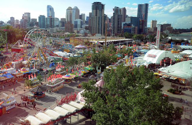 Calgary's iconic Stampede Park is the most fun you can have with your boots on. It consists of a Midway, Agricultural Show, Rodeo, Chuckwagon Races, evening Grandstand Show and numerous concerts by international recording artists. It is six festivals in one.