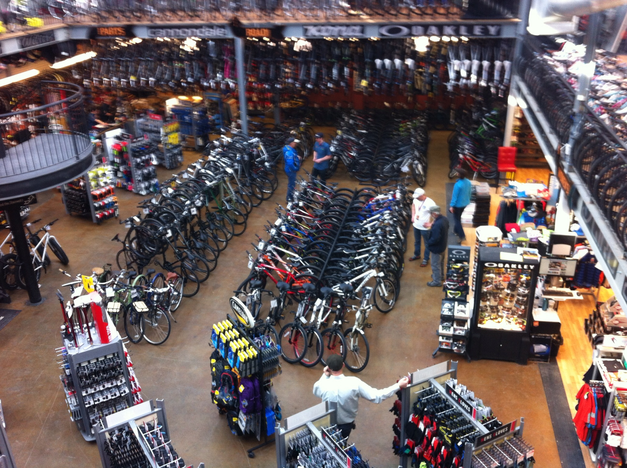 Calgary is home to perhaps North America's largest retail bike shop - Bow Cycle in beautiful downtown Bowness.
