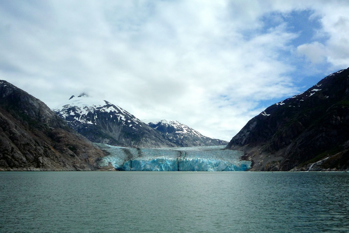 glacier at Tracy Arm