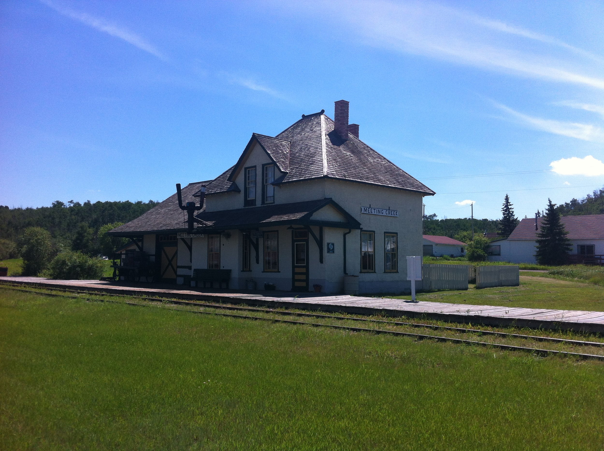 Meeting Creek Train depot
