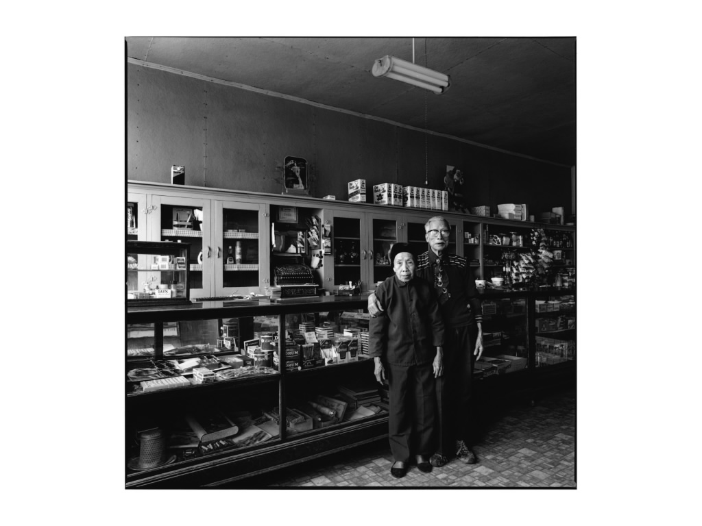 Mr. and Mrs. Chew, New Dayton, Alberta, 1988