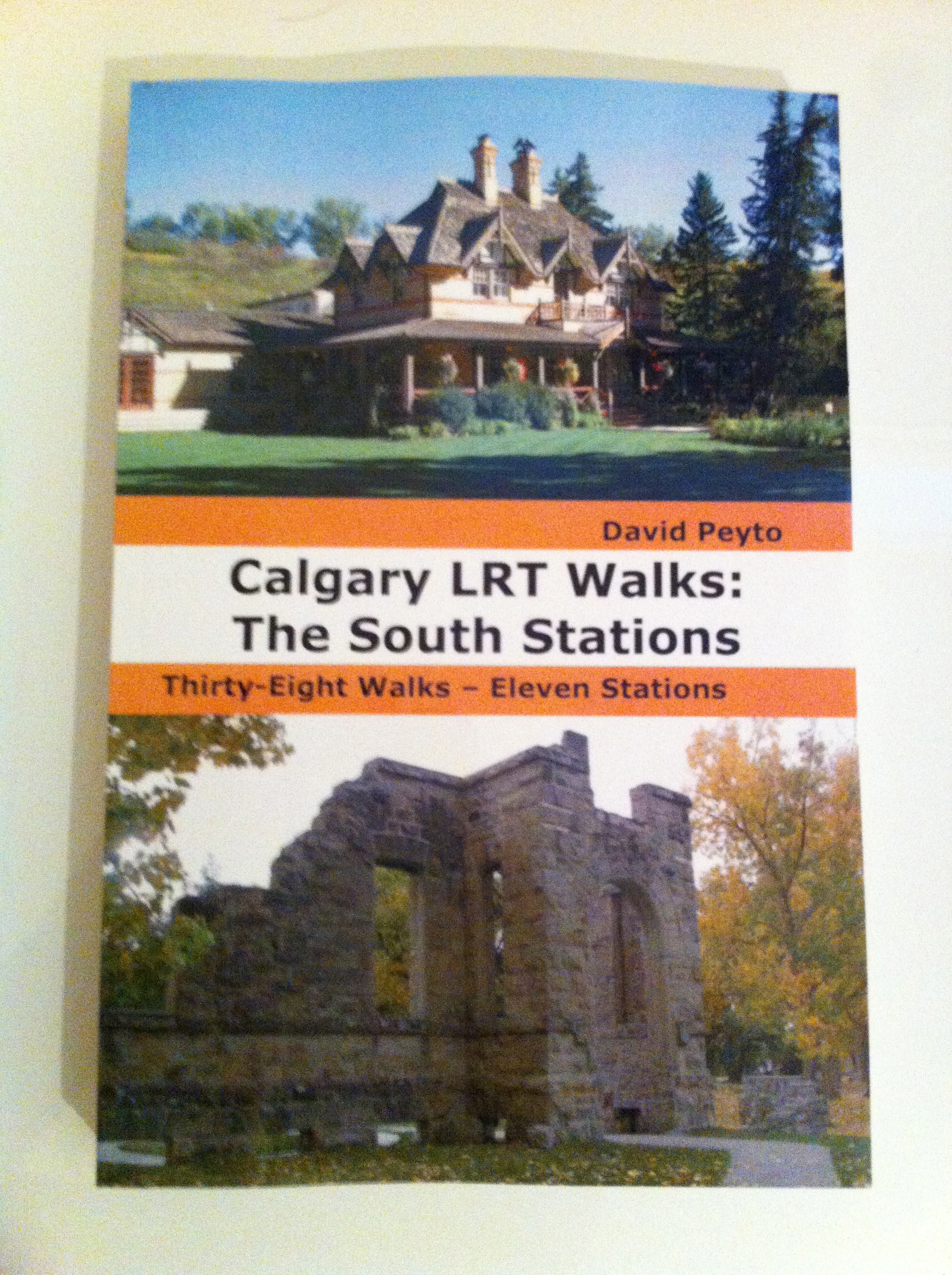 Cover of Calgary LRT Walks: The South Stations