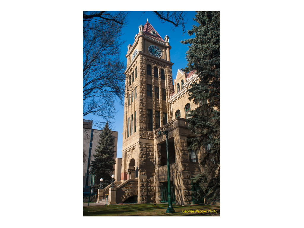 George Webber's reminds us that Calgary is home to some iconic sandstone buildings from the early 20th century that should be considered as one of our postcards to the world.