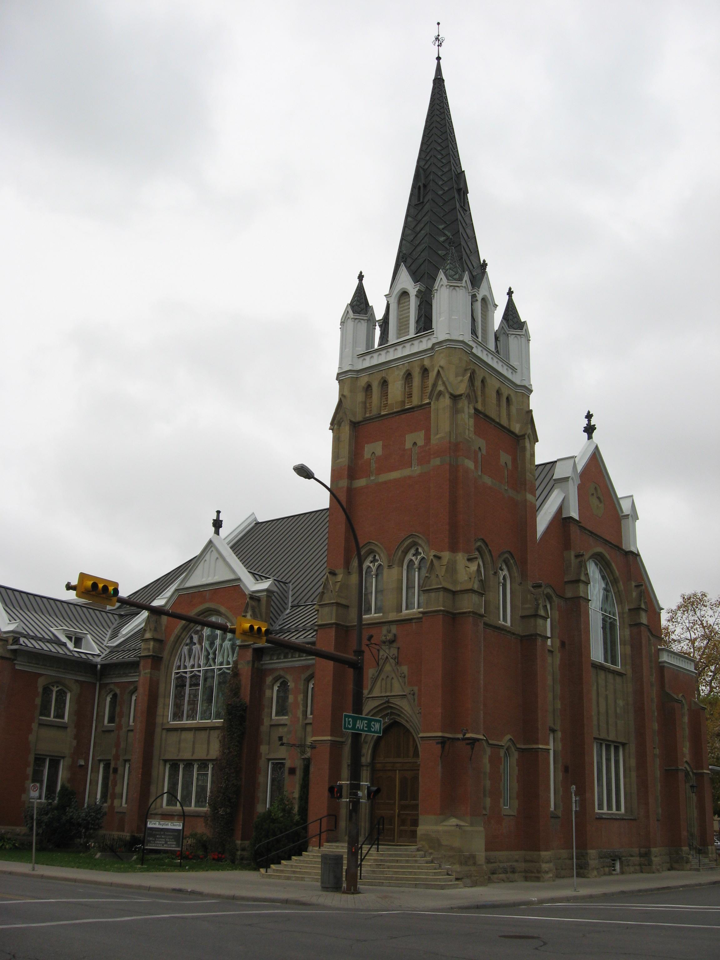 First Baptist Church, 1911/12
