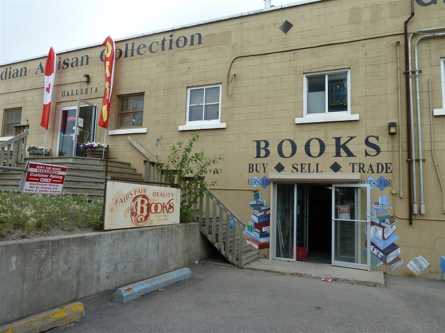 Fair's Fair Books combined with Galleria is an urban trekker's hidden gem for hipsters, as well as others.