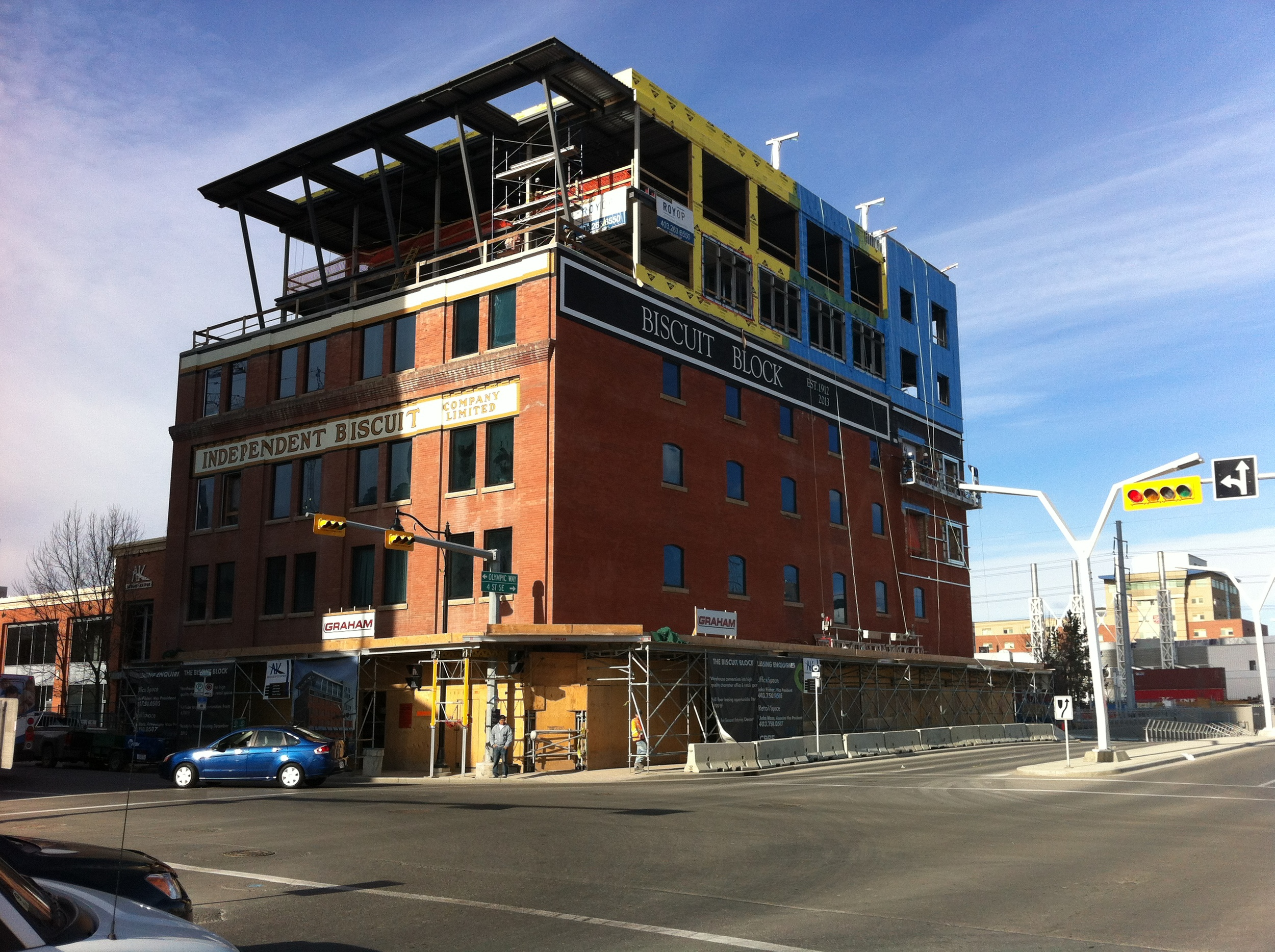 The Beltline's warehouse district is getting a major makeover with old buildings being renovated and expanded and new ones being built. What hipster wouldn't want to work in the Biscuit Block?